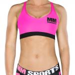 MM Sports Bra, Neon Pink
