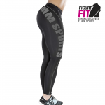 MM Sports Compression Tights, Svart/Metall