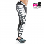 MM Hardcore Tights Wmn, Black/White