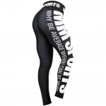 MM Sports Tights Sublina Wmn, Black/White