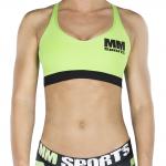 MM Sports Bra, Green/Black
