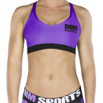 MM Sports Bra, Lilac/Black