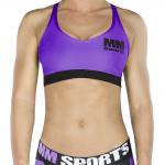 MM Sports Bra, Lilac/Black