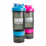 MM Sports SmartShake Transparent, 800ml