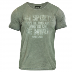 MM T-Shirt Cold Dye, Army Green