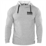MM Hardcore Hoodie, Light Grey/Black