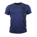 MM Hardcore T-Shirt Cold Dye Kade, denimblå