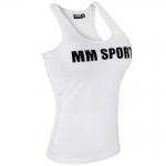 MM Sports Tank Wmn, White