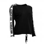 MM Sports Logo Sweater Ava, Black