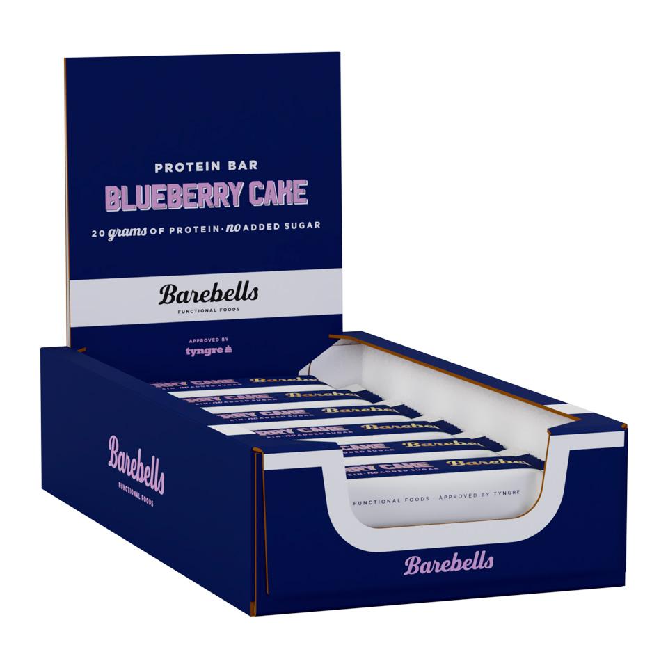 Bilde av Barebells Protein Bar - 12st Hel Låda 12 St Blueberry Cake
