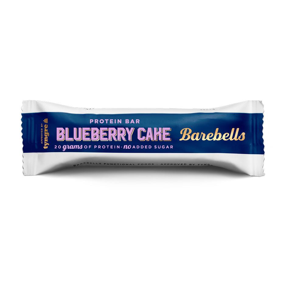 Bilde av Barebells Protein Bar Blueberry Cake