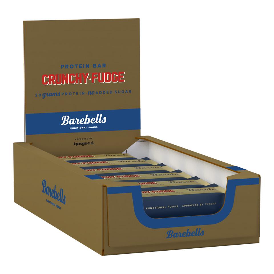 Bilde av Barebells Protein Bar - 12st Hel Låda 12 St Crunchy Fudge