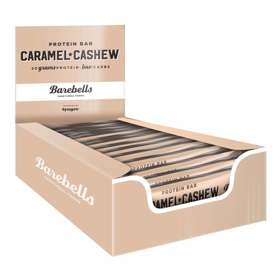 Bilde av Barebells Protein Bar - 12st Hel Låda 12 St Caramel Cashew