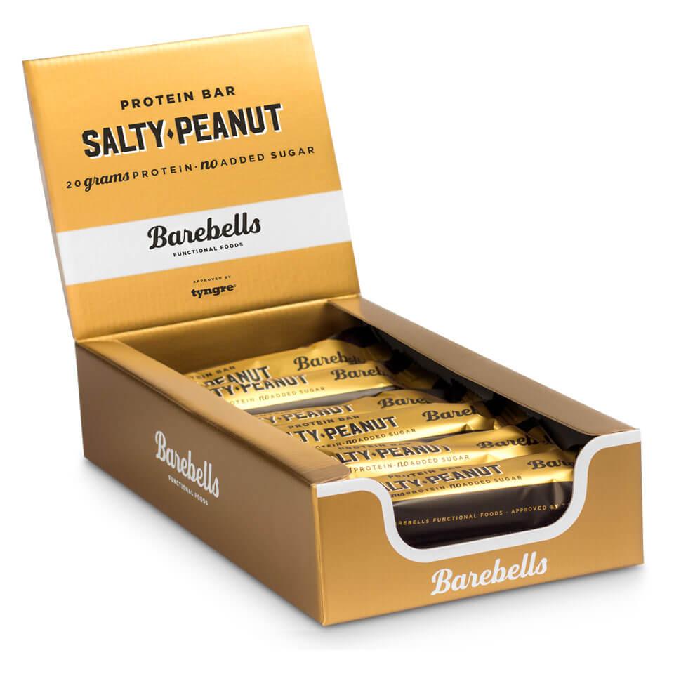 Bilde av Barebells Protein Bar - 12st Hel Låda 12 St Salty Peanut