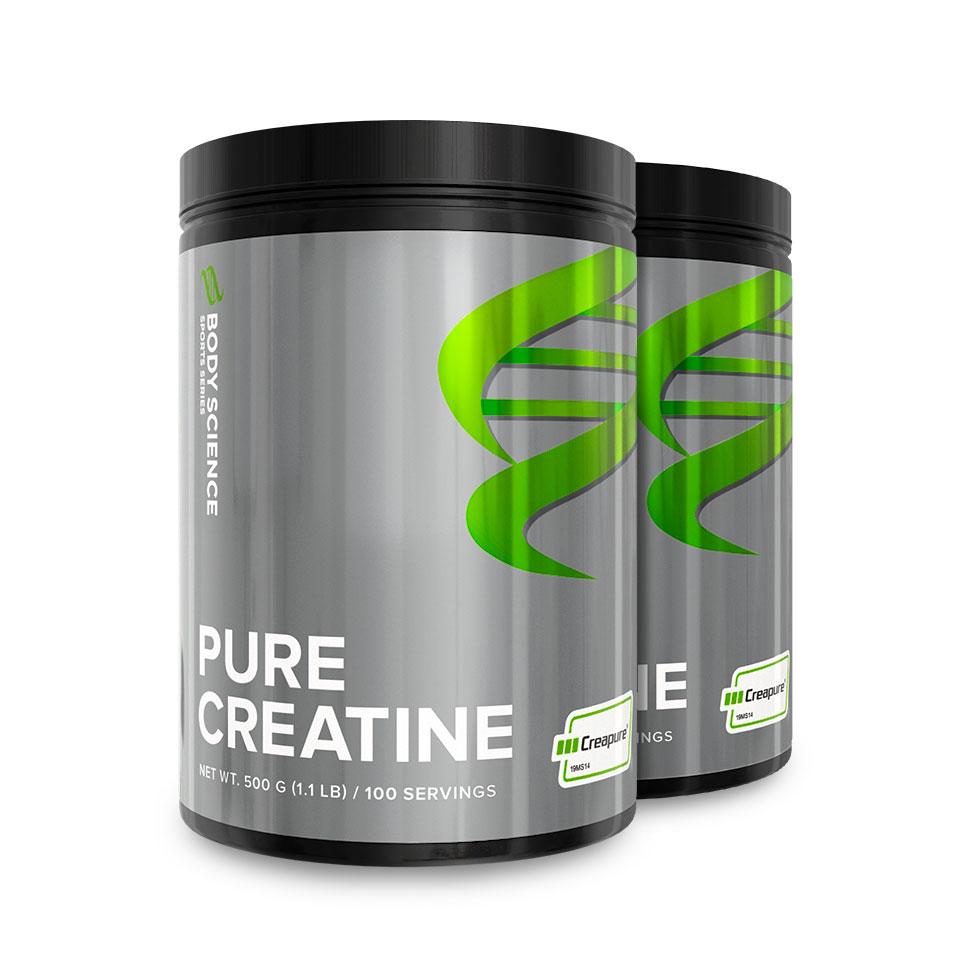 Pure Creatine Storpack 2 stk