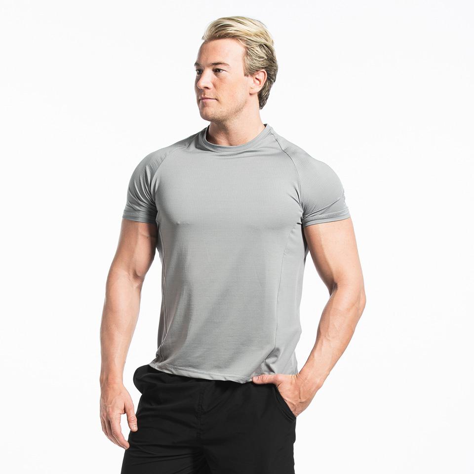 Brian Pro T-shirt Back, Grey