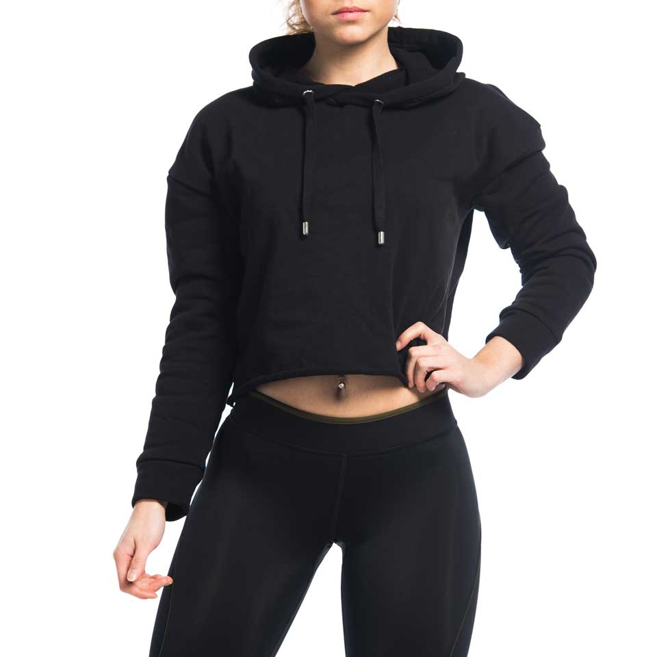 Amy Cropped Hoodie