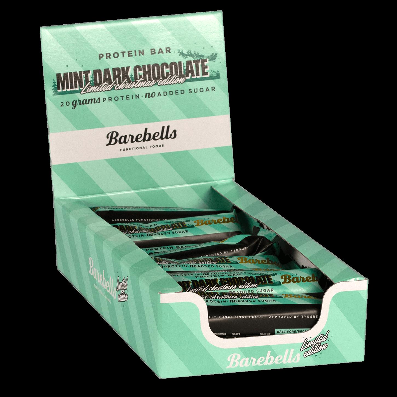Bilde av Barebells Protein Bar - 12st Hel Låda 12 St Mint Dark Chocolate Ltd