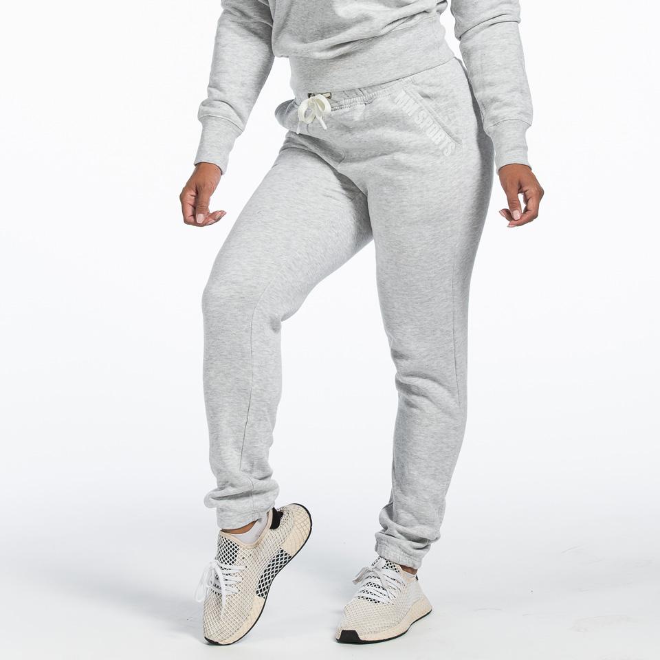 Basic Pant Christie, Light Grey Melange