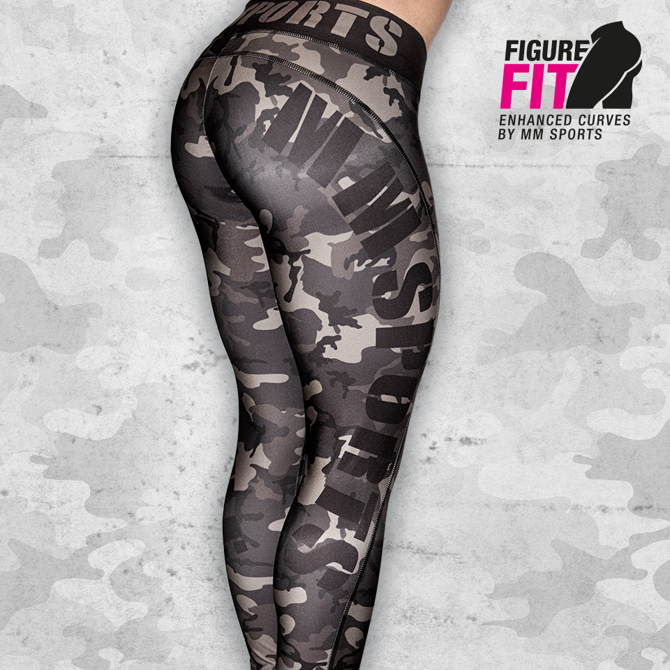 MM Camo Tights, Army Green
