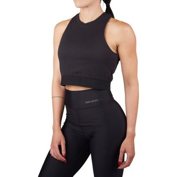 Elastic Cropped Top