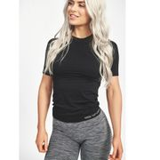 Seamless T-shirt Carol, Black
