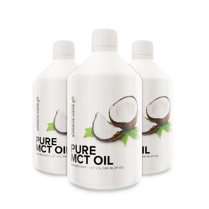 Pure MCT Oil, 3 stk