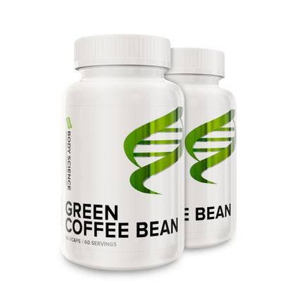 Green Coffee Bean 2 stk