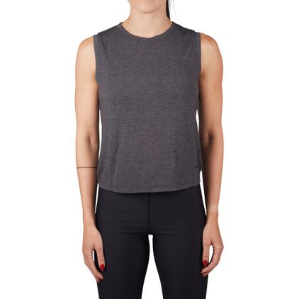 Cropped Tie Tank