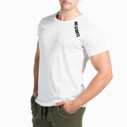 Basic Raglan Tee Christian, White