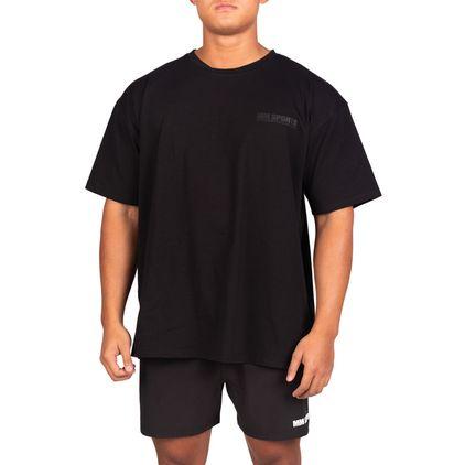 Oversize Hardcore T-Shirt Black/Black