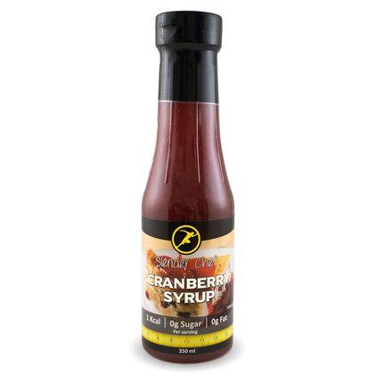 Slender Chef Cranberry Syrup